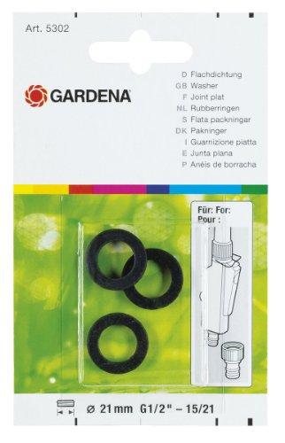 Gardena Flachdichtung: Spezieller Dichtungsring als Ersatzteil für Gardena Hahnverbinder  (5302-20)