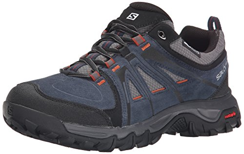 Salomon Men's Evasion CS Waterproof Hiking, Deep Blue,...