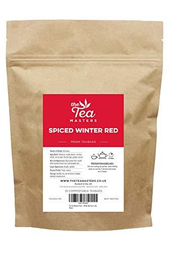 The Tea Masters bolsitas de té prism Té Rojo de Invierno con Especias (1 x25)