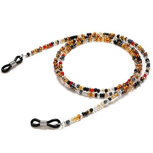 nuoshen Multi-Colour Beaded Eyeglasses Chain, Eyeglass Chains Holders...