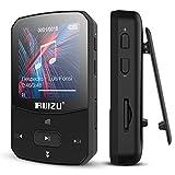 RUIZU MP3プレーヤー Bluetooth 4.0 デジタルオーディオプレーヤー 8GB-16GB内蔵 128GB 拡張可能 HiFi 高音質 ミュージックプレイヤー FMラジオ クリップ付き 軽量 X52