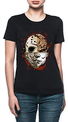 Vendax Horror TRITURAR Camiseta Mujer Negro