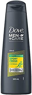 Dove Men+Care 2 in 1 Shampoo and Conditioner Wallabies Sport Fresh, 300 ml