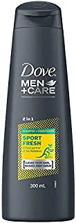 Dove Men+Care 2-in-1 Shampoo & Conditioner Wallabies Sport Fresh, 300ml
