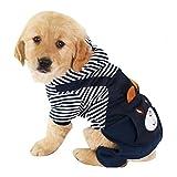 MiOYOOW Hundemantel Hunde Warm Hoodies Kleidung, Haustier Halloween Weihnachten Cosplay Kostüm