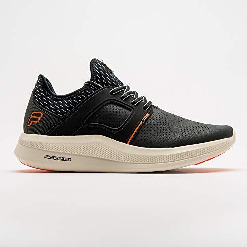 Tenis Fila Fit Tech Masculino Black/Orange FILA Masculino Preto 41
