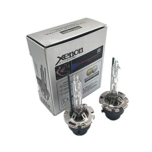 youyu6-2o521 Kit de Bombillas LED para Coche Coche HID Xenon Bulbs D2S D2R D4S D4R D1S D3S 12V 35W para x1 x3 x4 x5 x6 Z4 para GX400 2010-2013 2pcs para reemplazar la lámpara