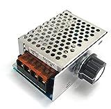WINGONEER Dimmer Thermostat Controller AC 220V 4000W haute puissance SCR électronique Régulateur de tension Gouverneur Vitesse