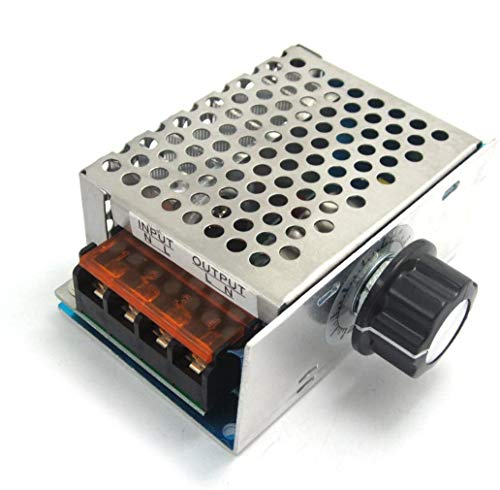 WINGONEER AC 220V 4000W alta potenza SCR elettronico di tensione governatore dimmer regolatore di velocità termostato