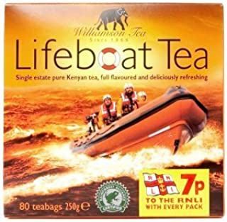 Lifeboat Tea, 80 Count, 8.8 Ounce Boxes (Pack of 12)