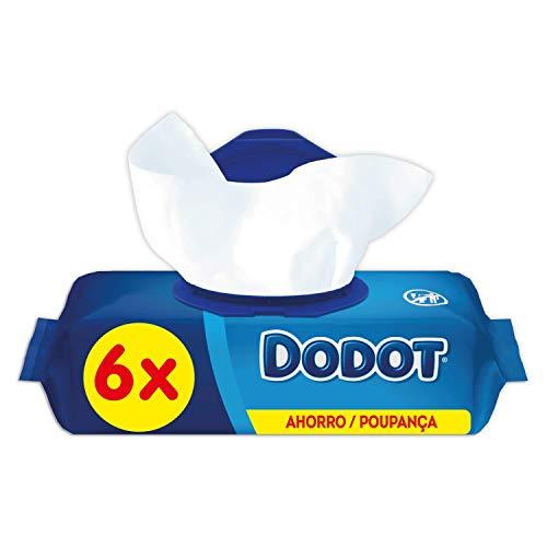 Dodot Toallitas Para Bebé 6 Paquetes, 384 Toallitas