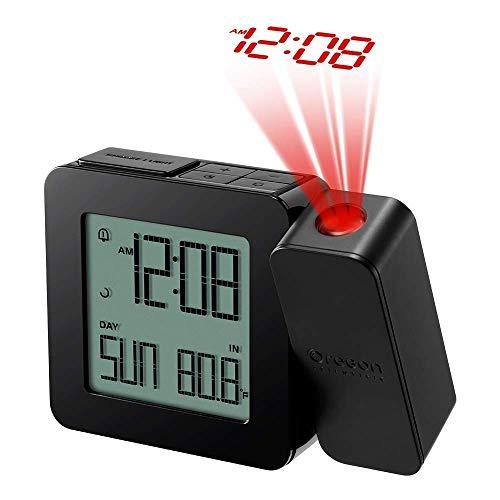 Oregon Scientific RM338PX Projektionsuhr, Schwarz, Klein