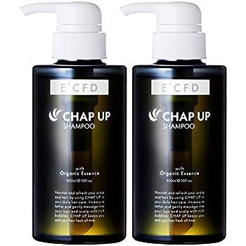 [Amazon限定ブランド] チャップアップ(CHAPUP) シャンプー2本 (スカルプケア・ノンシリコン・オーガニック・アミノ酸系) 2本 E'CFD