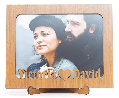 Tumoondo San Valentin Marco fotos 15x20 madera personalizado incluirem