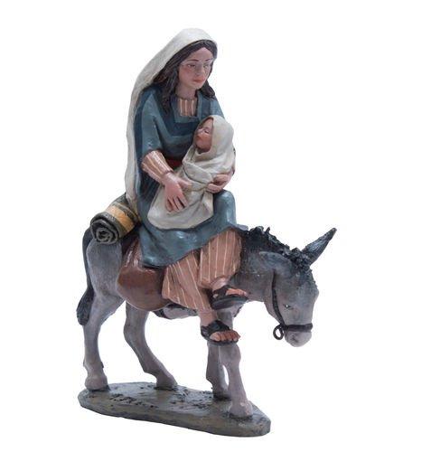 Triciclo Editores Belén Delprado J.L.Mayo - Huida Egipto, Virgen con niño - BEL097