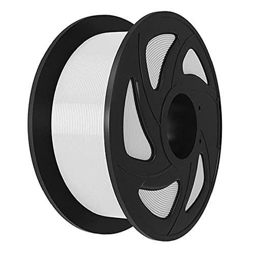 Impresora 3D Filamento Filamento pluma de la cola 1.75mm Suministros PLA impresión 3D filamento recargas de impresión 3D para la impresora 3D Pluma Blanca 1kg