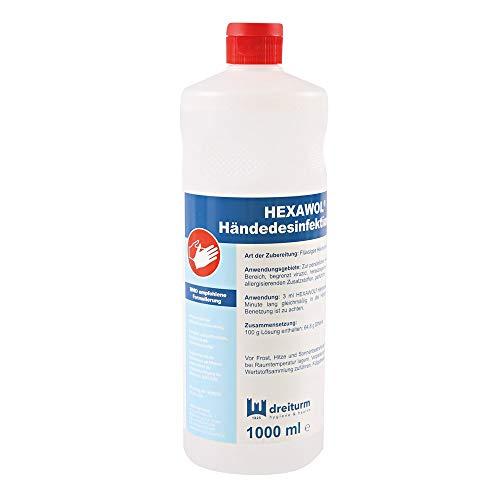 Hexawol® Händedesinfektion Ethanol | 1 Liter