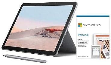 "Microsoft Surface Go 2 10.5"" Intel Pentium Gold 4GB RAM 64GB eMMC Platinum + Surface Pen Platinum + Microsoft 365 Personal..."