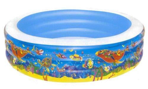 Gruppo Maruccia Piscina hinchable de jardín, diámetro 229 cm, piscina para niños de jardín