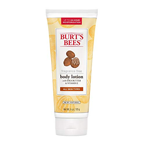 Price comparison product image Burt's Bees Fragrance Free Shea Butter and Vitamin E Body Lotion - 6 Ounces