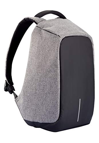 XD Design Bobby Original Anti-Theft Laptop USB Backpack Grey (Unisex Bag)