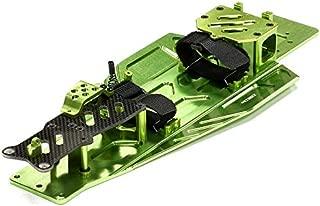 Integy RC Model Hop-ups T8655GREEN Performance Conversion Chassis Kit for 1/10 Traxxas Rustler & Bandit VXL