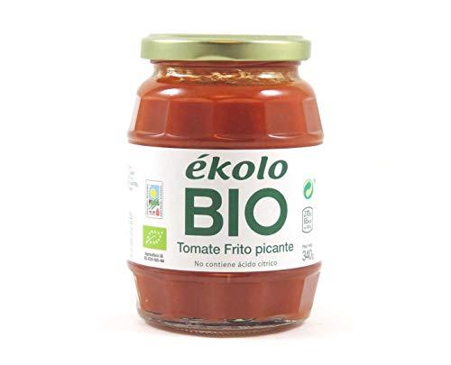 Ekolo  Tomate Frito Casero Picante Ecológico, 6 Tarros * 34