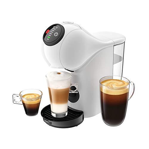 KRUPS Genio S Blanc Machine à Café Cafetière Fonction XL Intuitive Boissons Froides ou Chaudes Mode Eco Témoin Détartrage KP240110