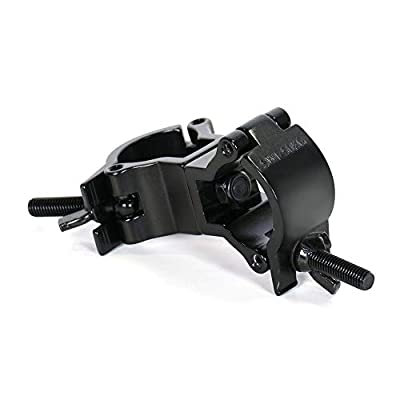 Duratruss 35mm Black Swivel Coupler for Speaker Stand Pole 32mm - 35mm Clamp