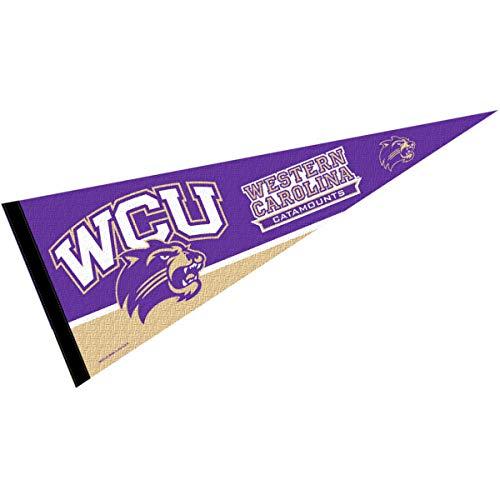 College Flags & Banners Co. Western Carolina Catamounts Pennant Full Size Felt