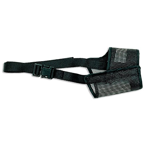 Coastal Pet Products Best Fit Mesh Dog Muzzle Size 4 | Nose Circumference 6-Inches | 1-Pack