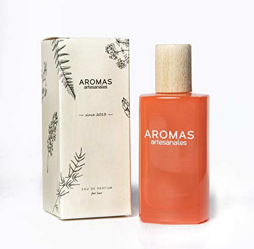 AROMAS ARTESANALES - Eau de Parfum Betera | Perfume con vaporizador para Mujeres | Fragancia Femenina 100 ml | Distintos Aromas - Encuentra el tuyo Aquí