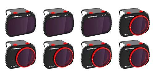 Freewell All Day Filter Kit for DJI Mavic Mini/Mini 2 Drone, 8-Pack