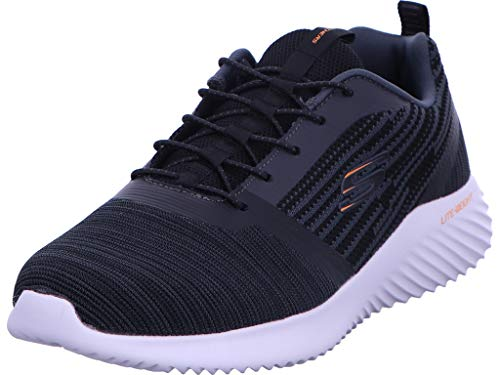 Skechers Men's Bounder Trainers, Black (Black Blk), 7 UK (41 EU)