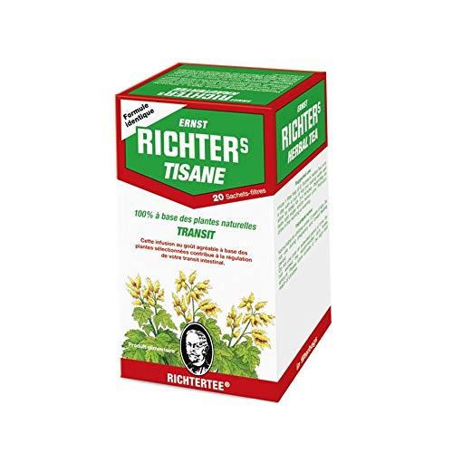 RICHTER Tisane 100% à base de plantes naturelles Transit, 20 sachets 40 g