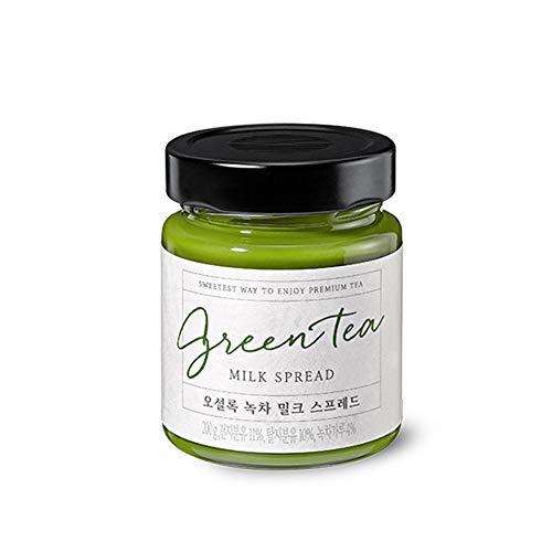 OSULLOC Green Tea Spread, Premium Organic Tea from Jeju, Jar-type package, 7.05 oz, 200g
