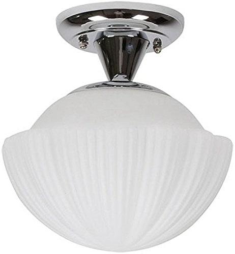 Simple Verre Shell balcon Lampes de Plafond Creative couloir couloir plafond Lampes de Plafond luminaires