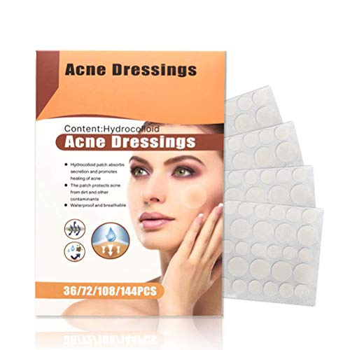 Patch D'acné Patchs Hydrocolloïdes de Guérison de L'acné Couverture Absorbante Invisible Points de Pores pour Le Traitement Des Imperfections Dissolvant D'étiquettes Cutanées