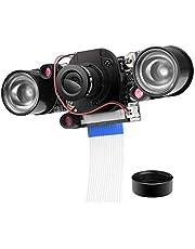 UNIROI カメラモジュール Rカットカメラ Raspberry Piに適用 デイ/ナイトビジョン自動調整 ラズベリーパイモデルB B + A + RPI 3 2 1に対応 UC026