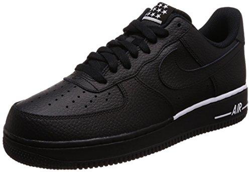 Nike Air Force 1 '07, Zapatillas de Gimnasia Hombre, Negro (Blackblackwhite 009), 39 EU