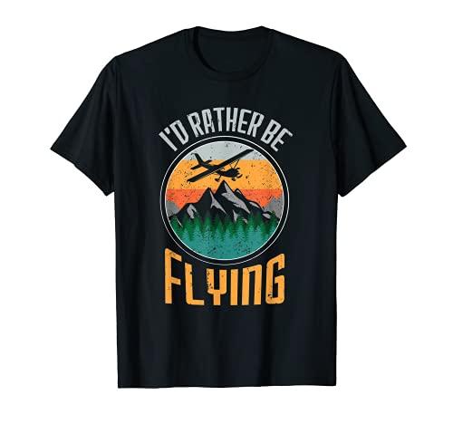 Citas de la aviación Decoración de la aviación Avión de Camiseta