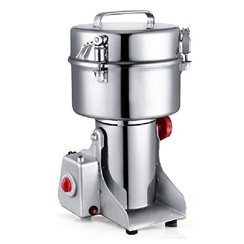 Baugger Electric Grains Spezie Cereali Caffè Caffè Dry Food Mill Gristmill Macinino Macinino Casa Polvere Frantoio