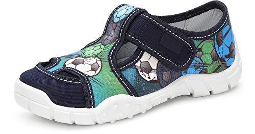 Ladeheid Zapatillas con Cierre Abrojo Calzado Niño LAVI0006 (Multicolor Ball, 29 EU)