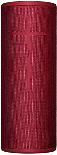 Ultimate Ears MEGABOOM 3 Portable Waterproof Bluetooth Speaker - Red (Renewed)