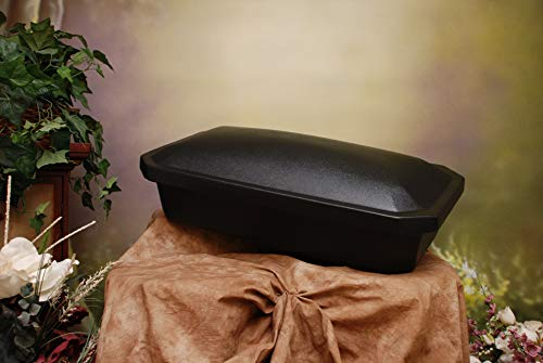 Newnak's Pet Caskets- Pet Casket Black (3 Sizes) Economy (Small)