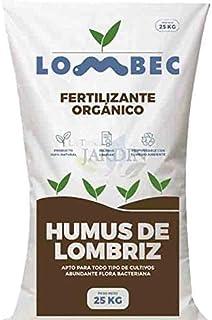 Suinga ABONO Fertilizante ORGANICO Humus DE LOMBRIZ, Saco 25