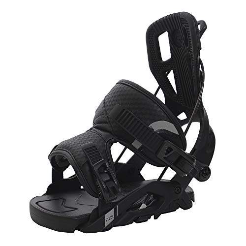 FLOW Heren Snowboard binding FUSE 2019 Black L