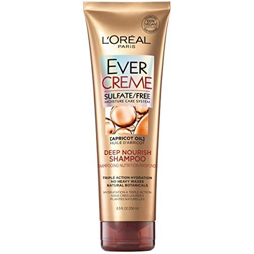 L'Oréal Paris EverCreme Sulfate Free Deep Nourish Shampoo, 8.5 Fl. Oz (Pack of 1)