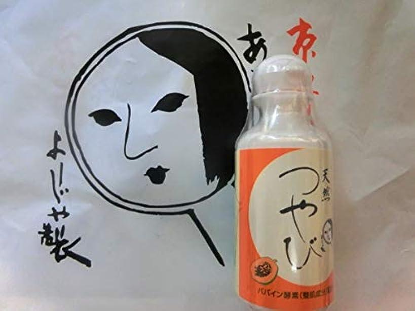 例外ぐるぐる文芸よーじや 酵素洗顔料 つやび 45g