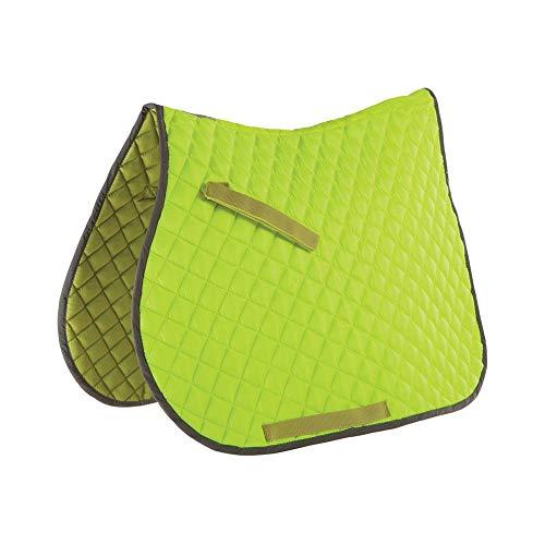 Roma Reflective Saddle Pad Full Size yellow